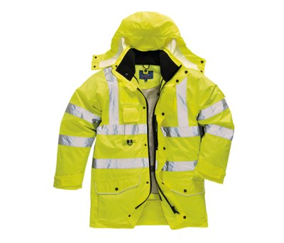 Jacheta Traffic Hi-Vis 7-in-1